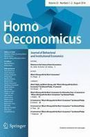 Welcome to the Future of Homo Oeconomicus | Bounded Rationality and Beyond | Scoop.it
