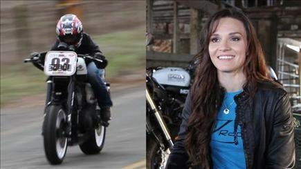 Shelina Moreda: The Next Danica Patrick on Two Wheels? | Brammo Electric Motorcycles | Scoop.it