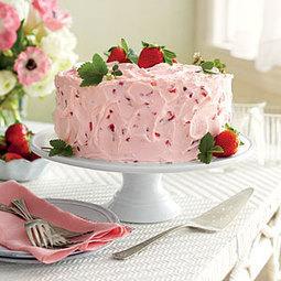 Strawberry-Lemonade Layer Cake | MyRecipes.com | Food | Scoop.it
