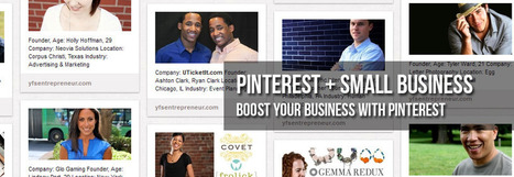 5 Ways Entrepreneurs Can Use Pinterest to Boost Their Business | Pinterest | Scoop.it