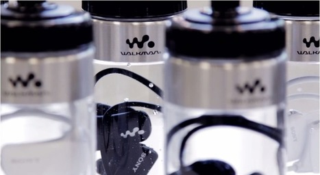 The Newest Sony MP3 Player Is Sold in a Water Bottle | Enjoy technology | Scoop.it