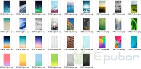 iPhone 5s iOS 7 Default Wallpaper Images Collection Free Download   ereader   Scoop.it