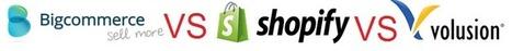 BigCommerce vs Shopify vs Volusion - Top Ecommerce Software Review | Ecommerce Software Reviews | Scoop.it