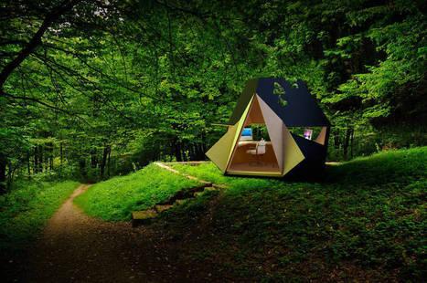 Portable Wooden Home Office | Web-design et nouvelles technos | Scoop.it
