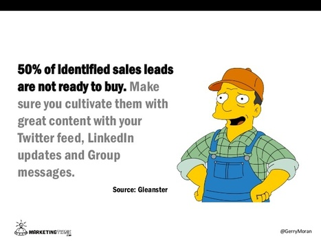 What The Simpsons' Ol' Gil Could Learn From Social Sales [SlideShare] | Public Relations & Social Media Insight | Scoop.it