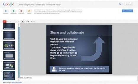 Google renueva su herramienta de presentaciones online | #REDXXI | Scoop.it