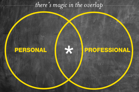 How To Blend The Personal With The Professional | genuineMIX: My Kind of Business | Scoop.it