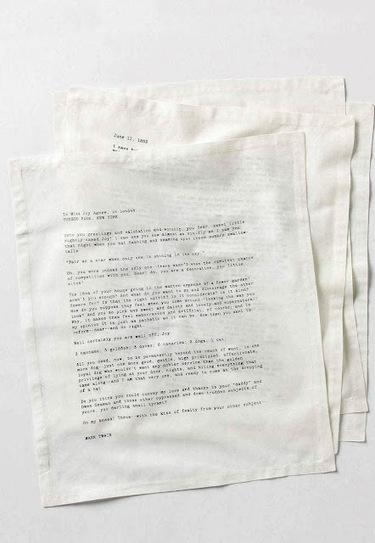 Limpiarse la baba con las cartas de celebridades literarias | Libro blanco | Lecturas | Scoop.it