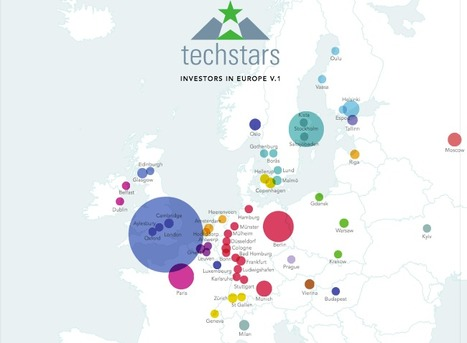 Map of over 300 European investors focused on start-ups | digital mentalist  and cool innovations | Scoop.it