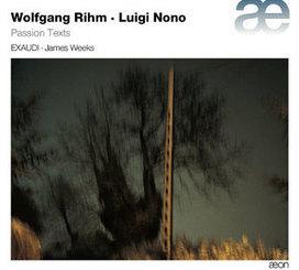 Luigi Nono – Wolfgang Rihm | Anaclase - AECD 1441 | Aeon | Scoop.it
