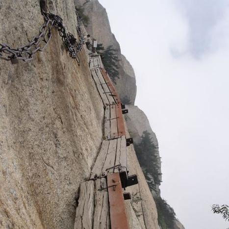 China: Mount Hua Shan | Wicked! | Scoop.it