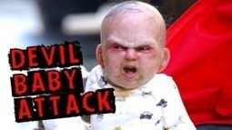 VIDEO! A baby possessed shoved us in fear! See how may panic made on the streets!   VDroll   Scoop.it