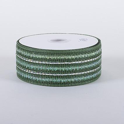 Old Willow Laser Metallic Mesh Ribbon 25 Yards | FuzzyFabric | Scoop.it
