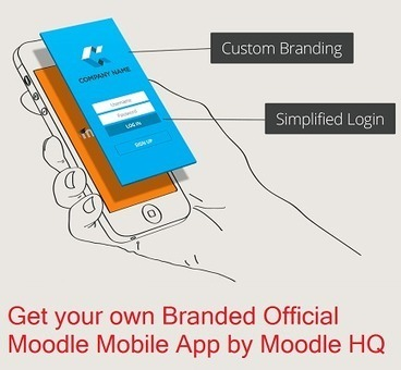Moodle HQ launched its own branded official Moodle Mobile app service #moodlemobile - Moodle World | elearning stuff | Scoop.it