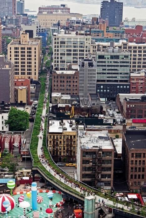 New York vue du ciel par Alex Maclean, photographe urbain | Architecture insolite | Scoop.it