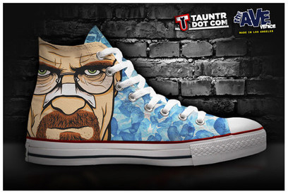 """Dexter,"" ""Breaking Bad"" and ""Walking Dead"" Shoes 