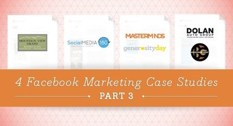 4 Facebook Marketing Case Studies – Part 3 | Communications and Social Media | Scoop.it