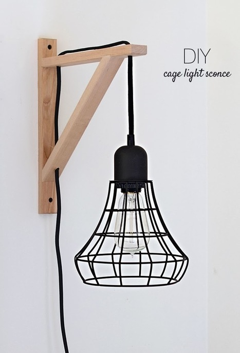 DIY Wall Lamp - iD Lights - Cool and Nice Lights / Lamps | 1001 Light ideas ! | Scoop.it