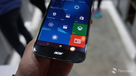 Acer's Windows 10 Mobile flagship is again available for just £199 in the UK | Windows Phone - CompuSpace | Scoop.it