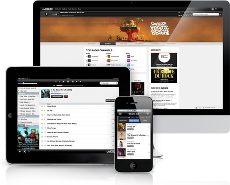 Deezer Expands to Canada, Australia & New Zealand | Music business | Scoop.it
