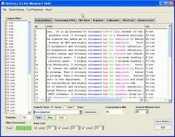 Free concordancing software: Laurence Anthony's AntConc | TELT | Scoop.it