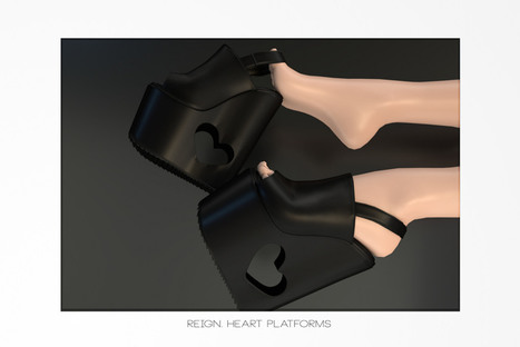 REIGN.- HEART PLATFORMS FATPACK!!! | 亗 Second Life Freebies Addiction & More 亗 | Scoop.it