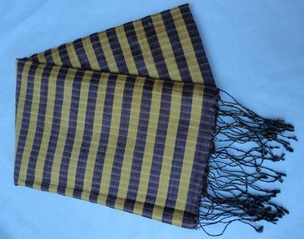 fair trade Cambodia. Golden Cocoon Silk Shawl Scarf, ethically handwoven by local disadvantaged Women weavers. www.handmadecambodia.com   Silk Scarfs, Ethically handmade   Scoop.it