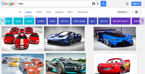 Google Image Search launches colored filter buttons | Web Design, Development and Digital Marketing | Scoop.it