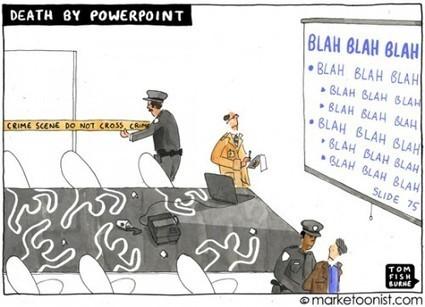 Les 3 raisons qui font que 90% des PowerPoint sont nuls... et comment y remédier !ConseilsMarketing.fr | BàON - la Boite à Outils Numériques | Scoop.it