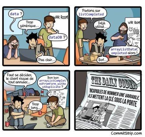 Un des plus gros problèmes de codeur [humour]   Info Magazine   Scoop.it