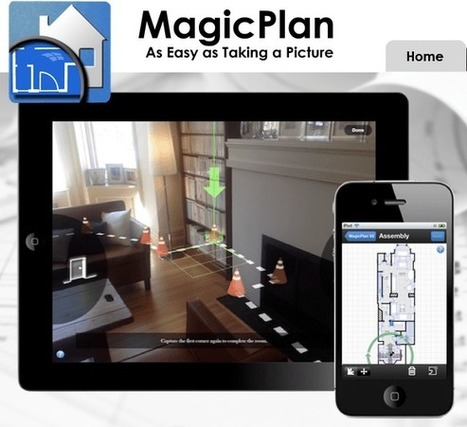 MagicPlan – Desenha a planta de qualquer casa usando a câmera do celular | Big Boys and Their Toys | Scoop.it