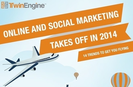 14 Digital And Social Media Marketing Trends For 2014 [INFOGRAPHIC] | The Future of Social Media: Trends, Signals, Analysis, News | Scoop.it