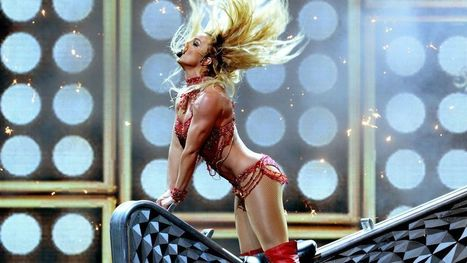 Watch Britney Spears hump a guitar in her killer Billboard Music Awards performance | snihal | Scoop.it