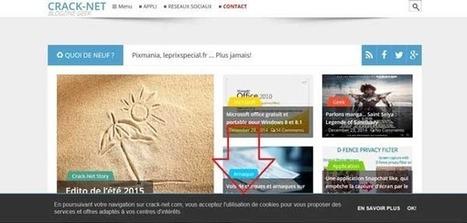 Afficher et personnaliser la notification pour les cookies sous Blogger | Crack-net | Freewares | Scoop.it