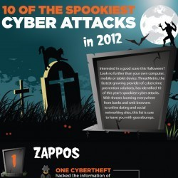 10 of the Spookiest Cyber Attacks of 2012! | Visual.ly | The Daily Information Security Dose | Scoop.it