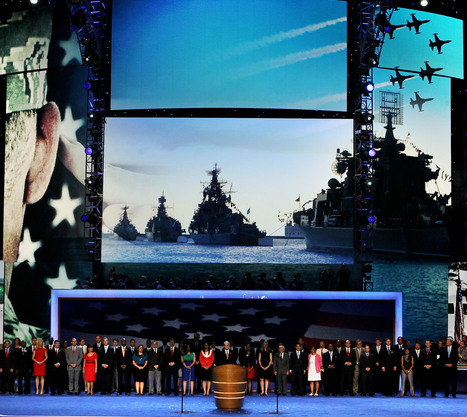 Tribute to Veterans on Final Night at DNC showed Russian Warships in Background - Tea Party Command Center | Restore America | Scoop.it