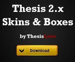 Must Have Free Thesis 2.0 Boxes | Blogging Tips | Scoop.it