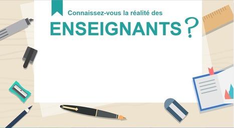 La réalité des enseignants | Le francais comme langue internationale | Scoop.it