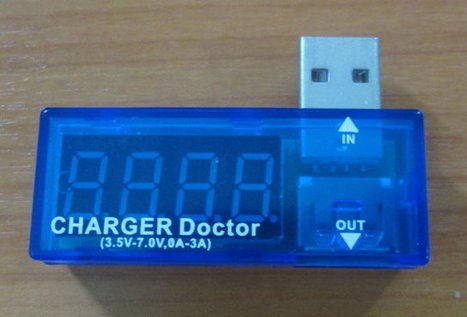 $5.40 CHARGER Doctor Makes USB Power Measurements Easy | Embedded Systems News | Scoop.it