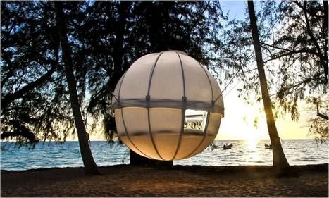 Une tente aux allures de cabane dans les arbres pour les amateurs de Glamping | Loisirs et découverte | Scoop.it