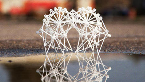 """Tiny, 3-D Printed """"Strandbeests"""" Are Like Pets You Never Have To Feed 
