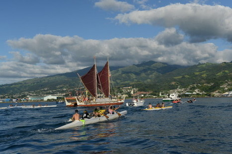 Hōkūle'a: Pulling Tahiti out of the Sea - National Geographic | New Stuff | Scoop.it