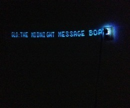GLO: The Midnight Message Board and RSS Display   Open Source Hardware News   Scoop.it