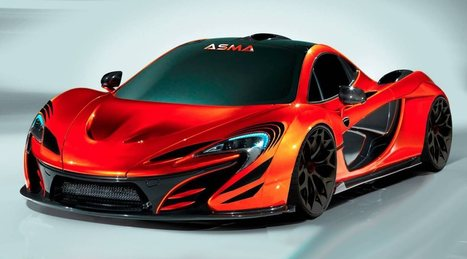 Maxabout: McLaren P1 by ASMA Design | Latest News | Scoop.it