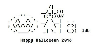Happy Halloween 2016 – ASCII Artist | ASCII Art | Scoop.it