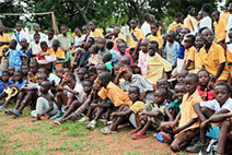 Sony Global - CSR - Dream Goal 2010 -Join the Team!- - Public Viewing in Africa | A School Research on SONY | Scoop.it
