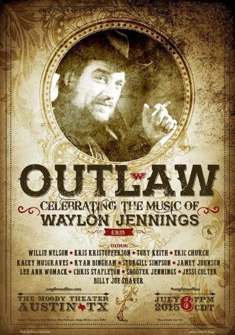 Huge Waylon Jennings Tribute Show Announced | Country Music Today | Scoop.it