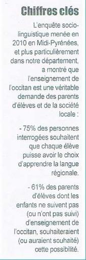 Enseignement de l'occitan dans les Hautes-Pyrénées : Signature d'une convention - [TARBES INFOS] | Mes Hautes-Pyrénées | Scoop.it
