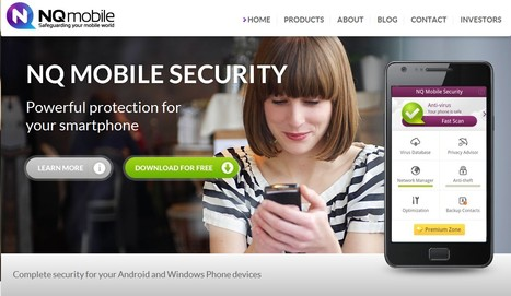 NQ Mobile. Protect your Smartphone with our Award-Winning Mobile Security Apps | ICT Security Tools | Scoop.it