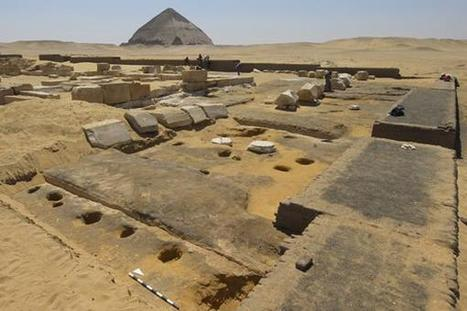 Remains of brick building and garden uncovered at Dahshur | Egyptology and Archaeology | Scoop.it